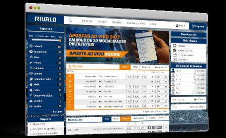 Rivalo site de apostas online